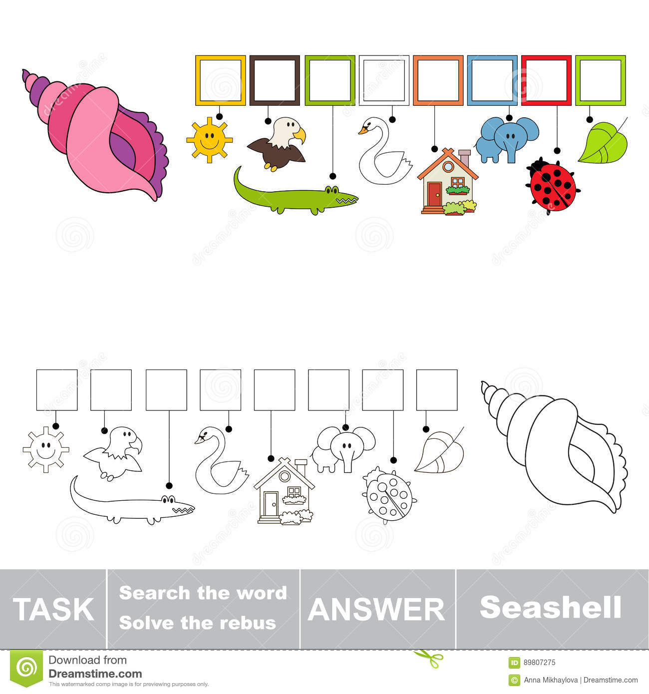 Search The Hidden Word The Simple Educational Kid Game
