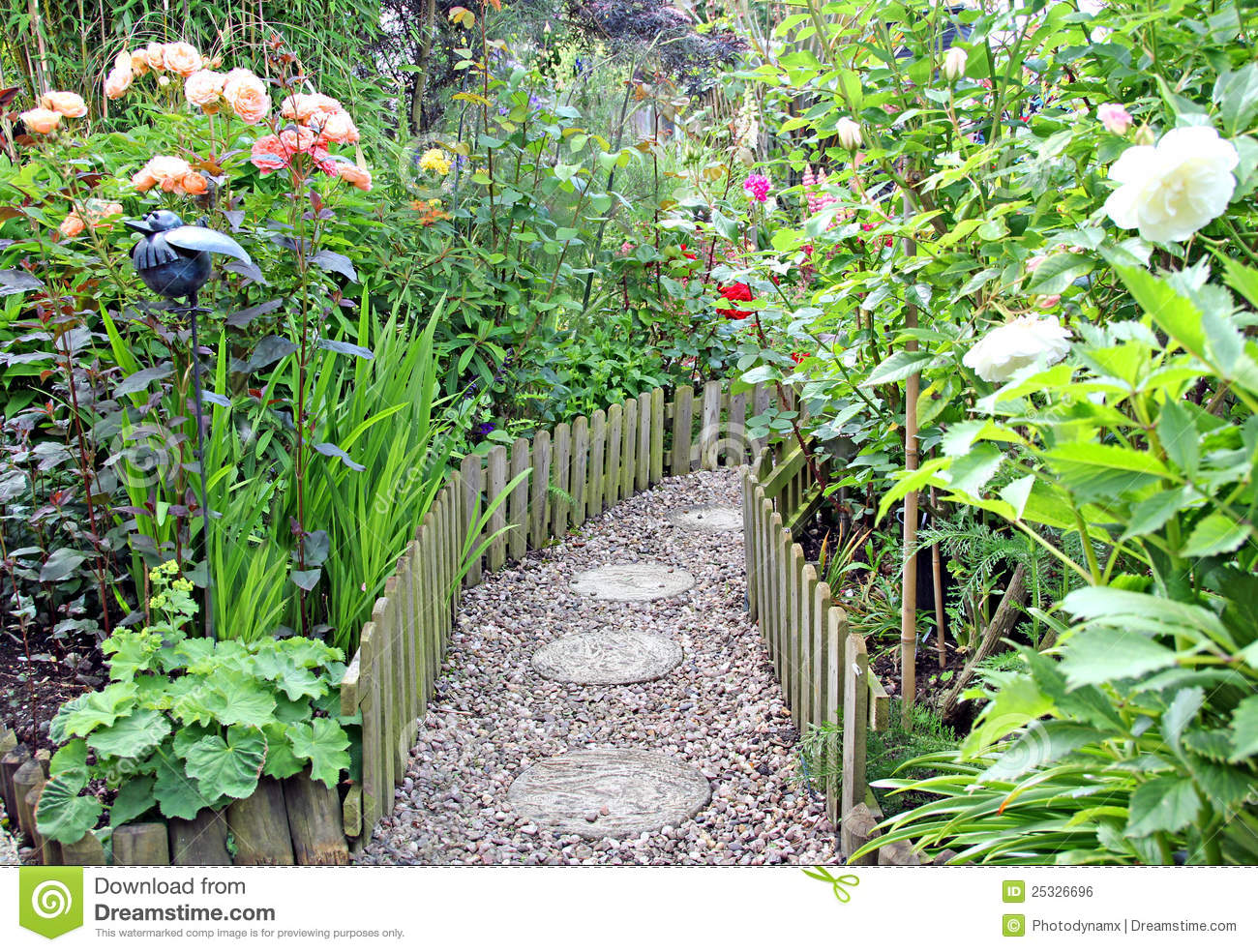 Vegetable Garden In Fall Wallpaper Secret Garden Path Stock Photo Image Of Beautiful