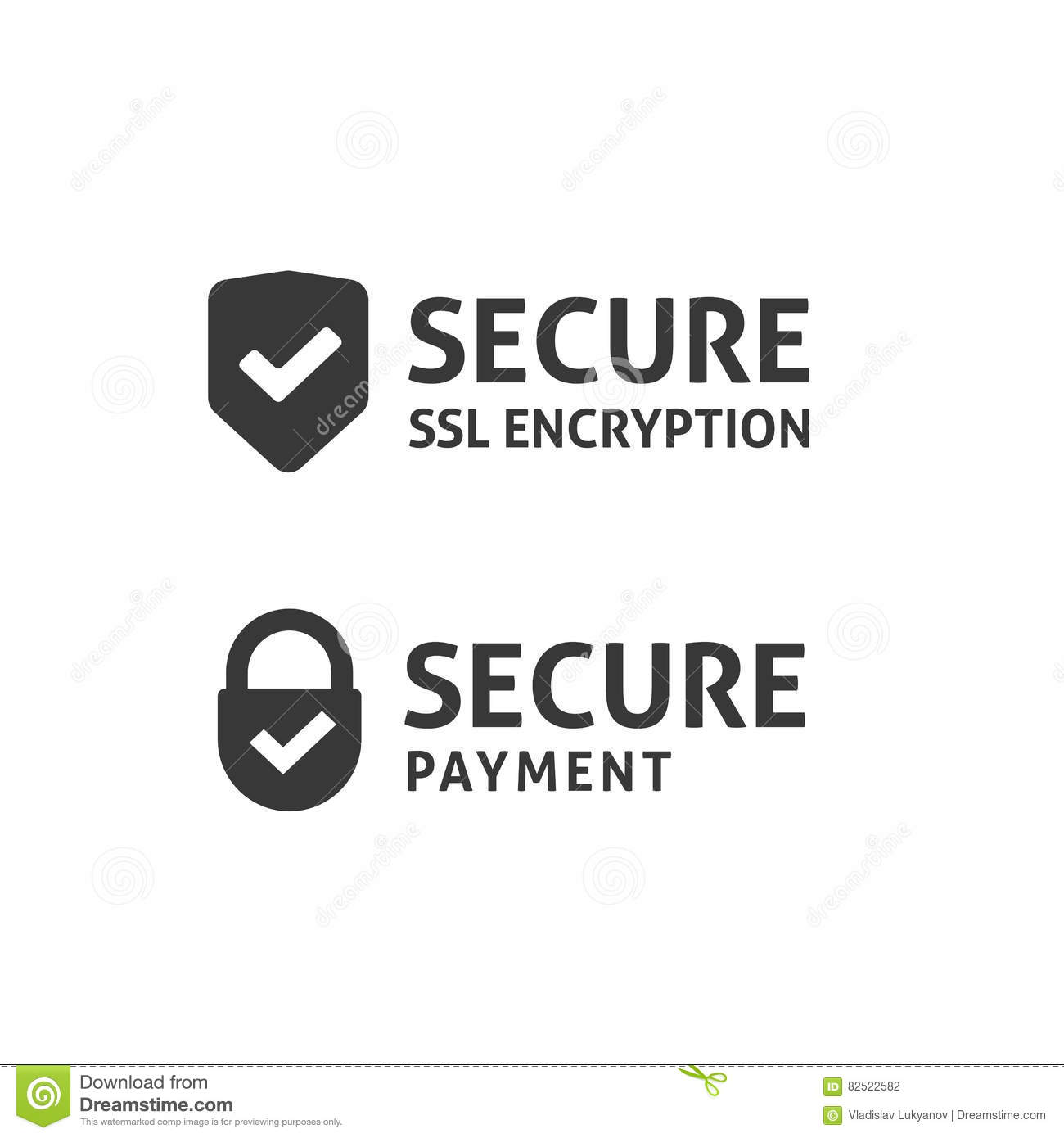 Secure Connection Icon, Secured Ssl Shield, Protected