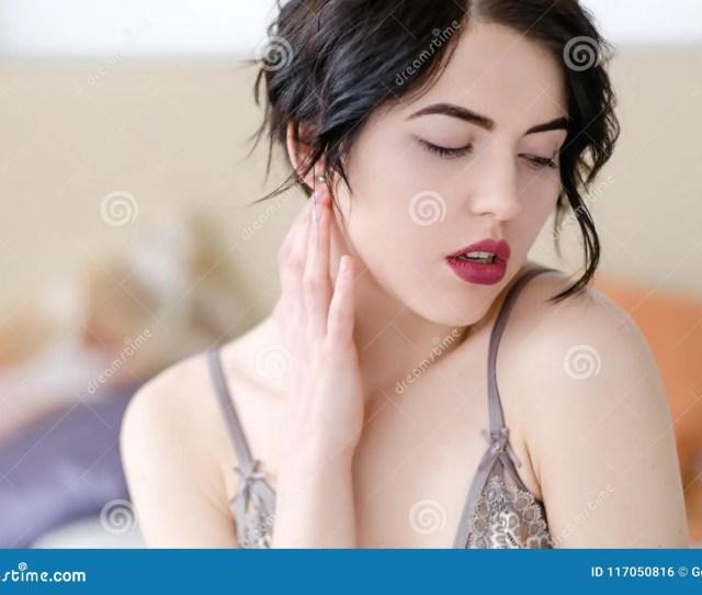 Seduction Sex Pleasure Aroused Girl Lingerie