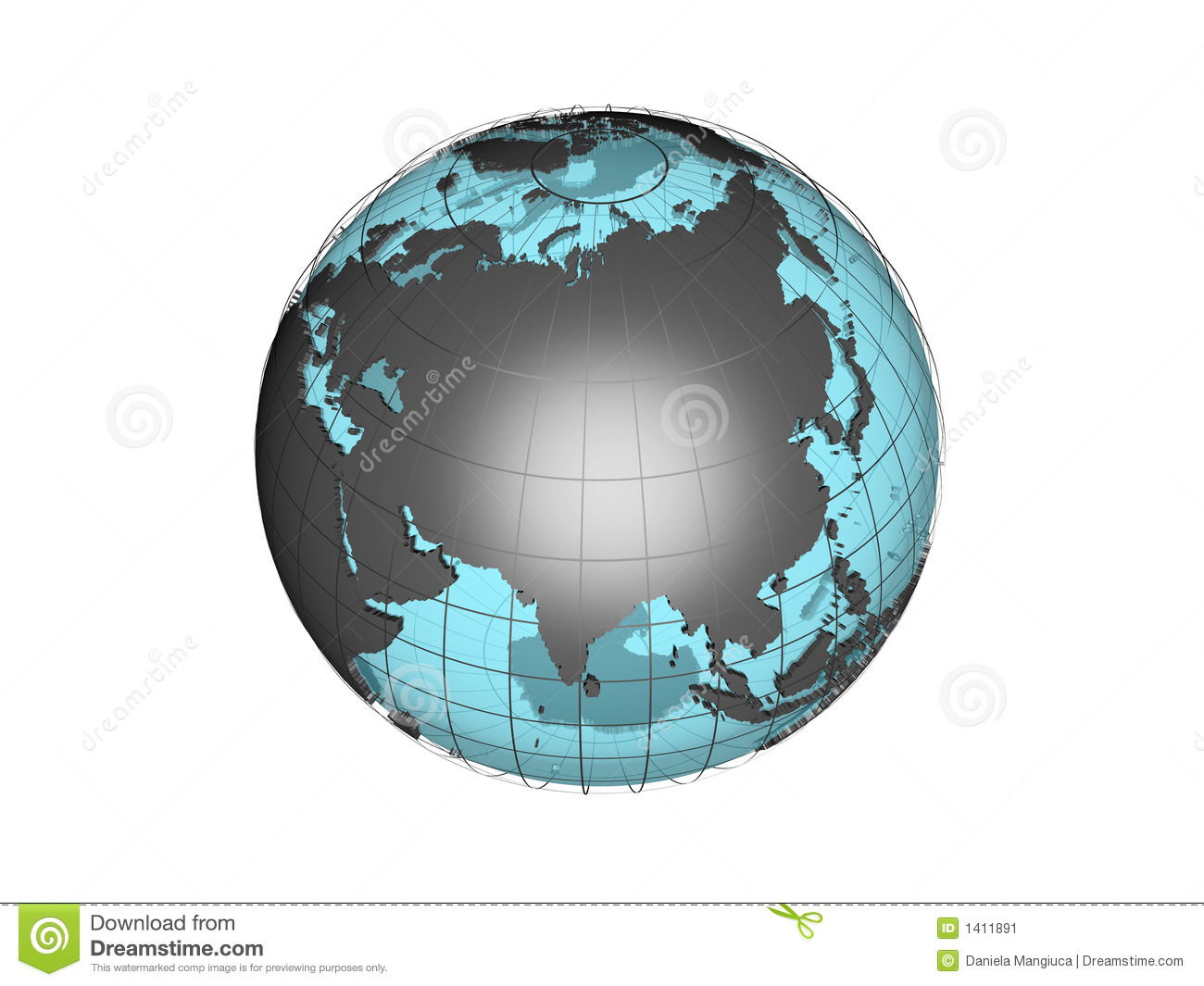download 3d map of asia