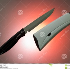 Self Sharpening Kitchen Knife Cabinet Costs Stock Photo Image Of Automatic