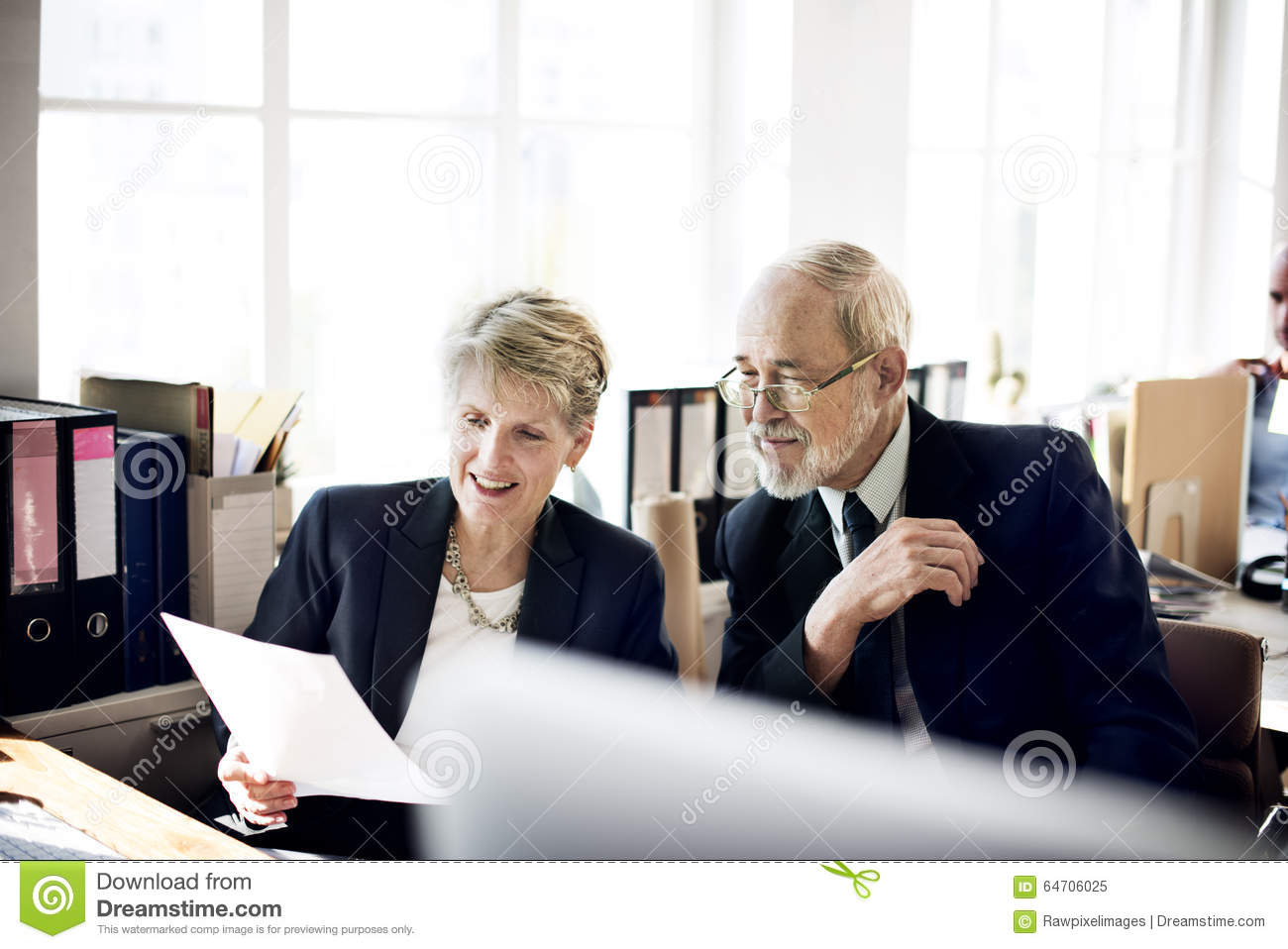 Senior Marketing Manager Holding Up A Blank Ad Board RoyaltyFree Stock Image  CartoonDealer