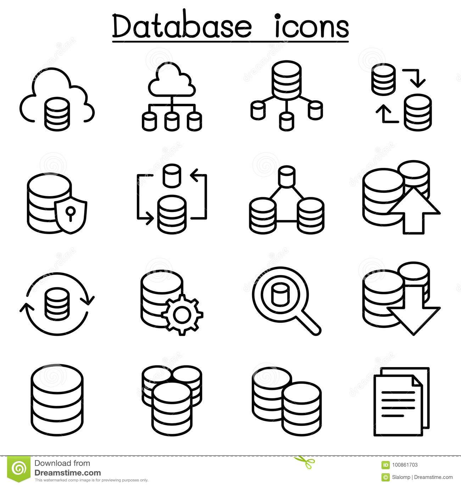 Server, Database, Hosting, Sharing, Cloud Computing Icon