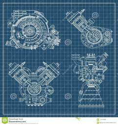 set of drawings of engines motor vehicle internal combustion engine motorcycle electric motor [ 1300 x 1390 Pixel ]