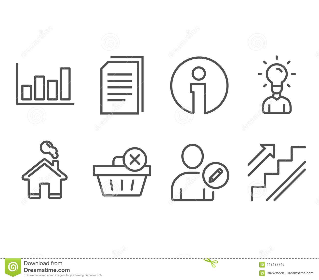 hight resolution of edit user delete purchase and education icons copy files report diagram and stairs