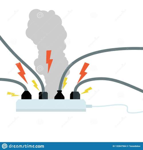 small resolution of plugs into connectors with wires electrical appliance in operation tee household appliance modern communications circuit fault fire danger