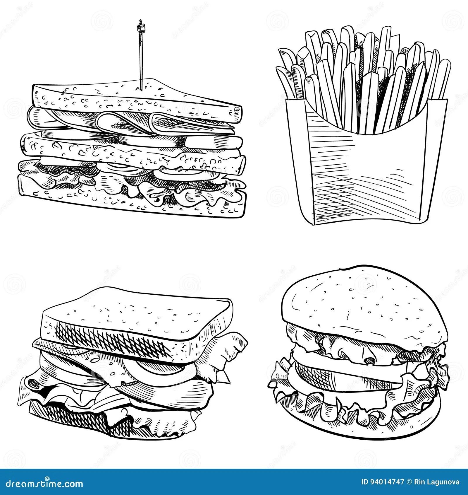 Sandwich Cartoons, Illustrations & Vector Stock Images