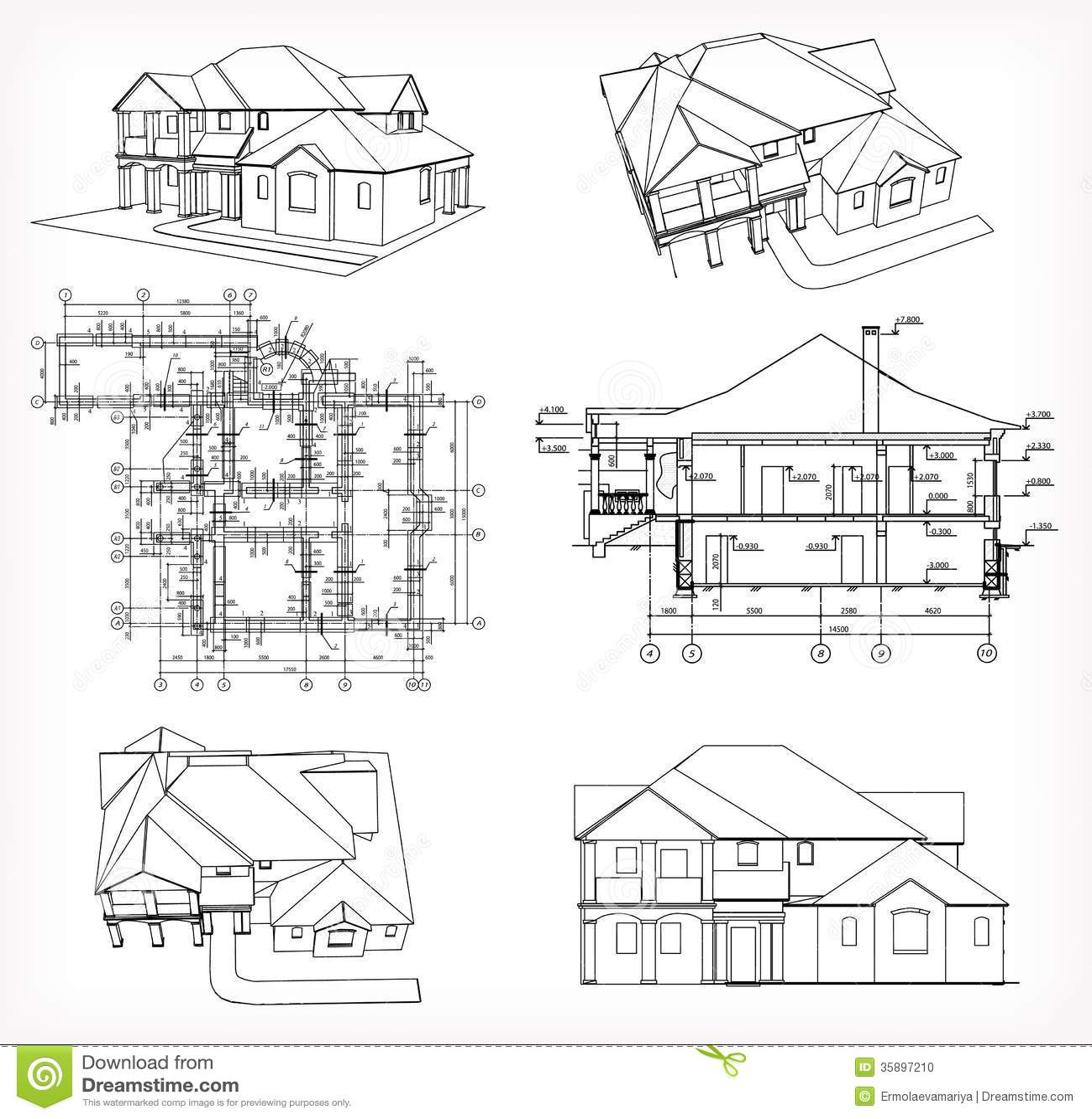 20 Unique Simple Building Plan Drawing
