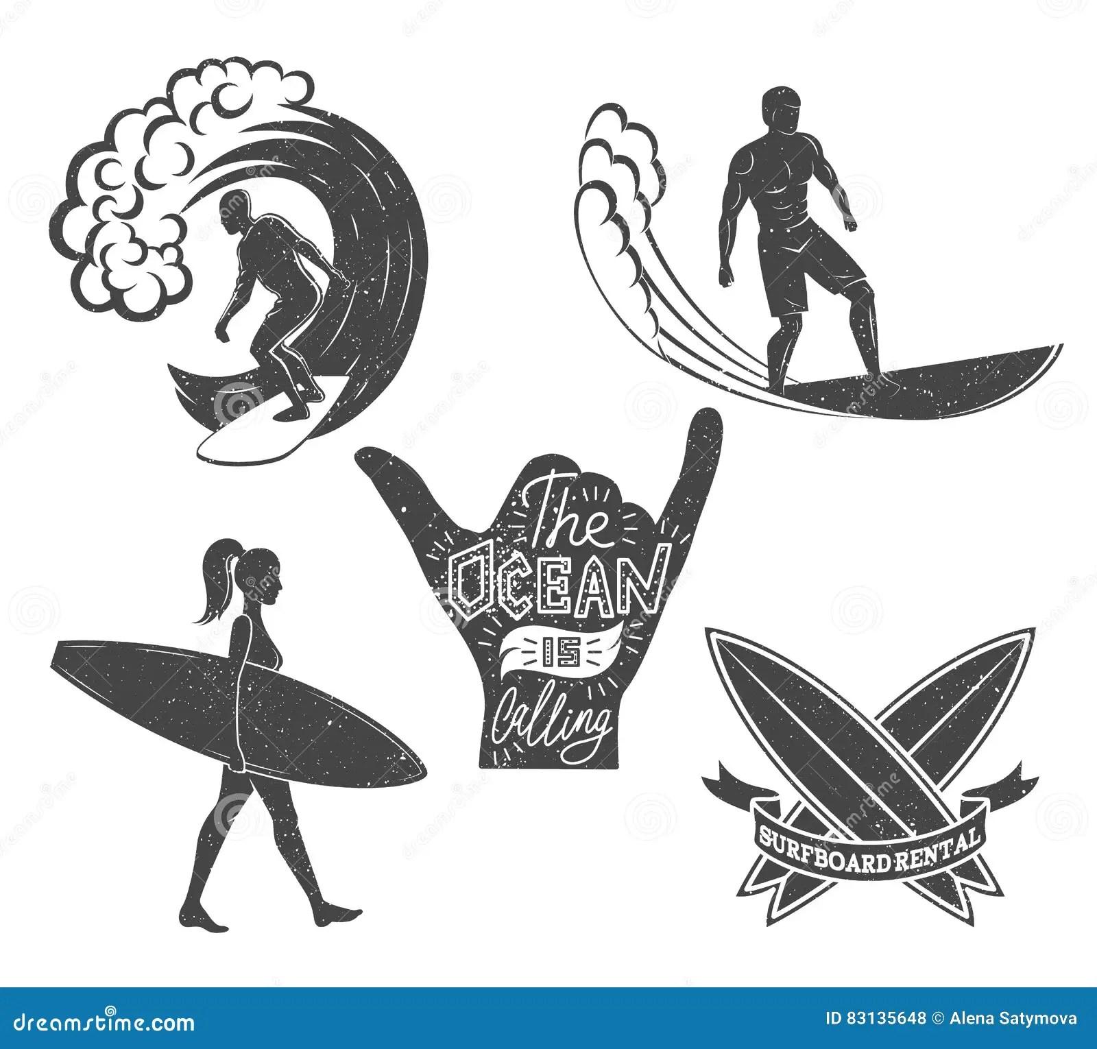 Hawaii Surfing Girl Silhouette