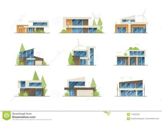 Modern Homes Stock Illustrations 2 946 Modern Homes Stock Illustrations Vectors & Clipart Dreamstime