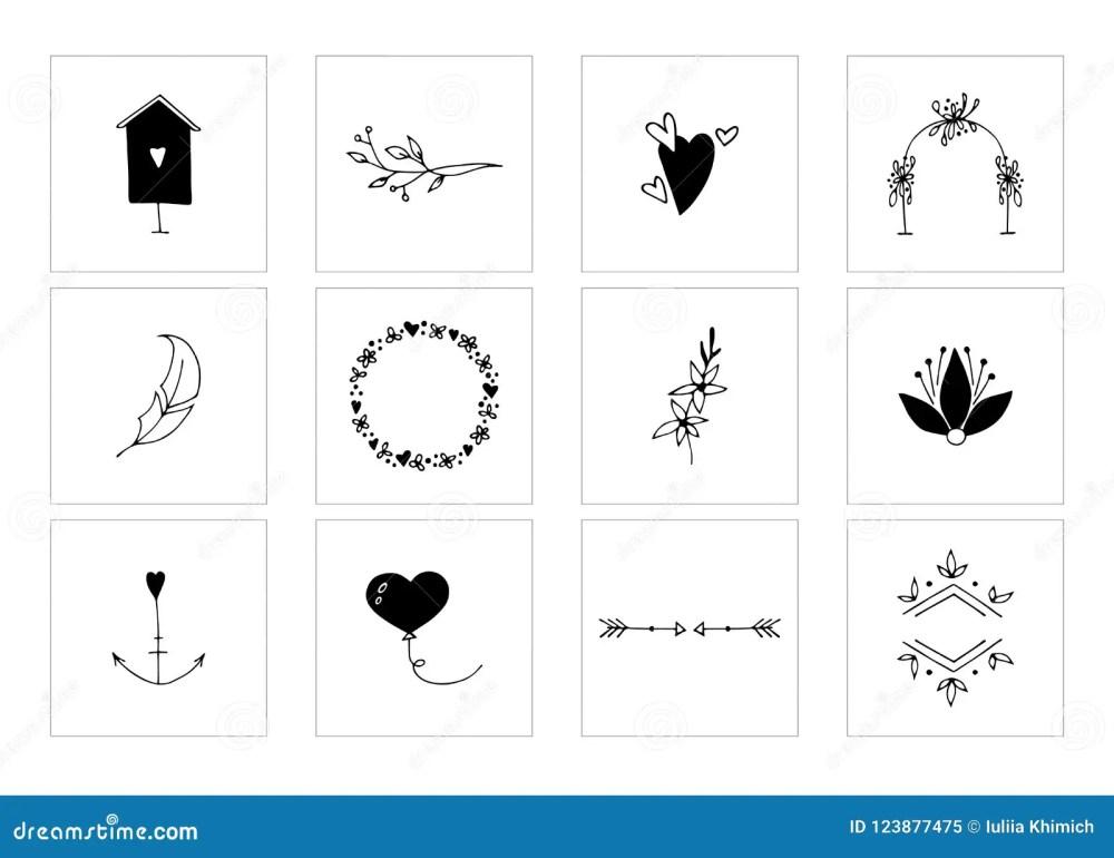 medium resolution of romantic and wedding clipart feminine logo elements
