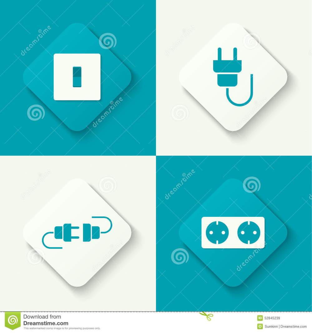 medium resolution of set of vector icons