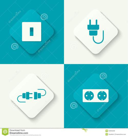 small resolution of set of vector icons
