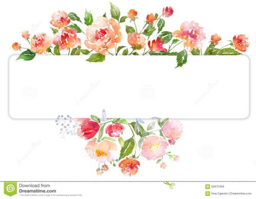 small resolution of floral clip art with watercolor peonies illustration for greeting cards invitations and other printing projects