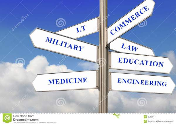 Seven Career Path Stock Of Aspiration