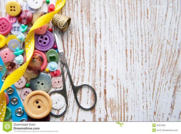 Sewing Items Royalty Free Stock - 30373065