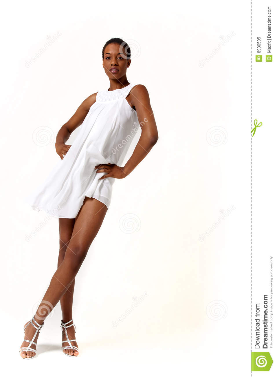 African American woman stock image Image of fashion
