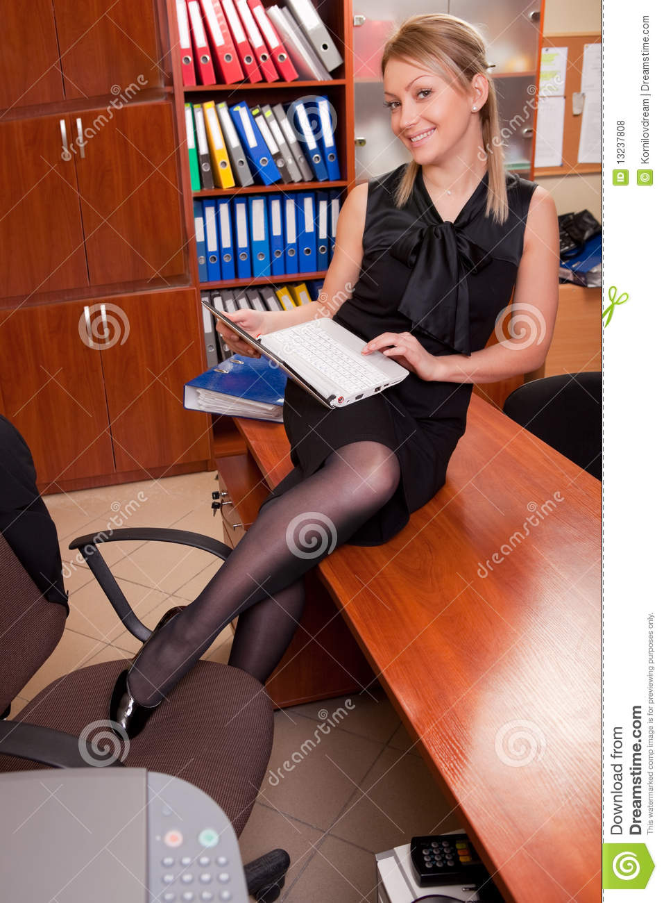 Sexy Office Worker Royalty Free Stock Photos  Image 13237808