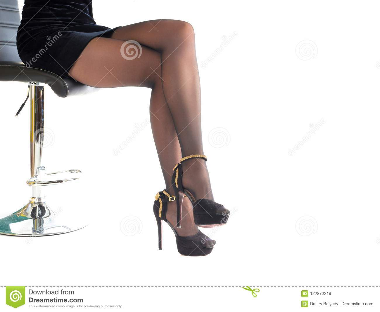 high heel shoe furniture chair office guest chairs woman wearing heels shoes and short skirt sitting in