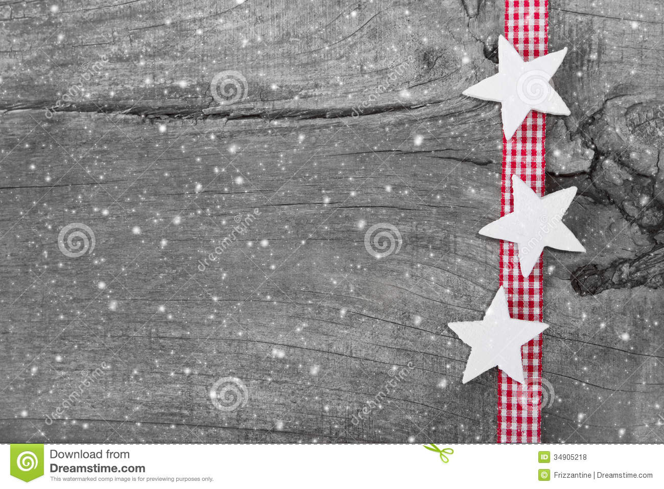 Shabby Chic Christmas Background In Grey White And Red