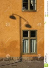 Shadow Of A Lamp Post Royalty Free Stock Photo - Image ...
