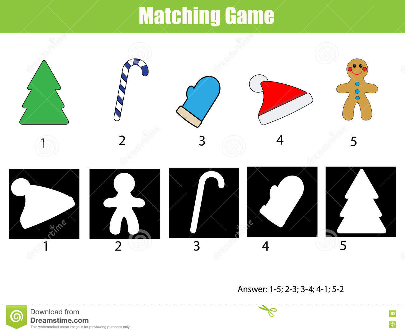 Matching Game Toddler Toddler Game Printable