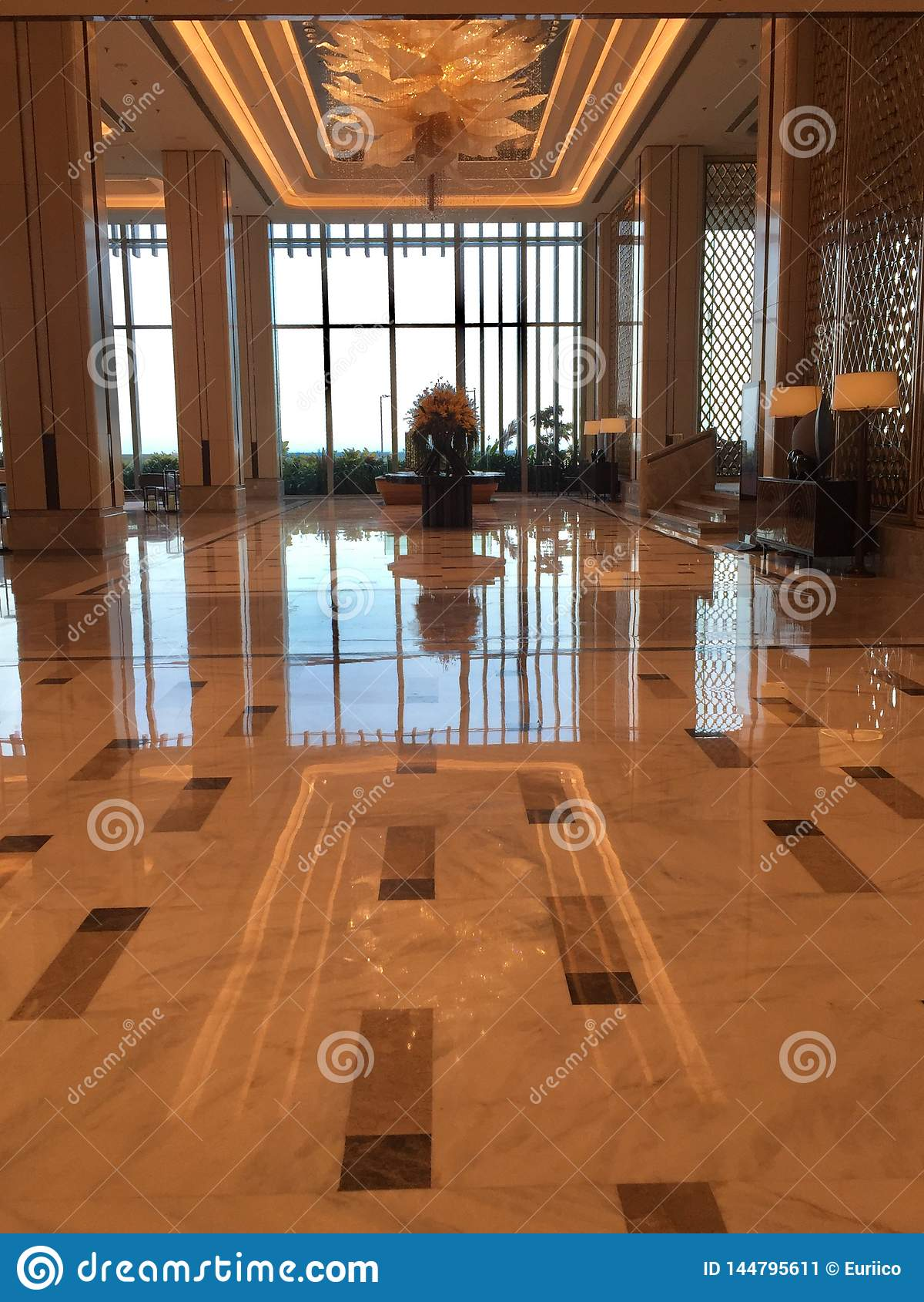 Interiors Of Shangri La Colombo Editorial Photo Image Of