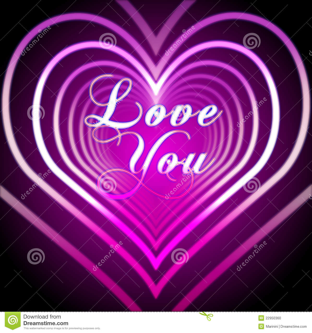 T Letter Wallpaper 3d Shining Pink Hearts With Love You Stock Photo Image