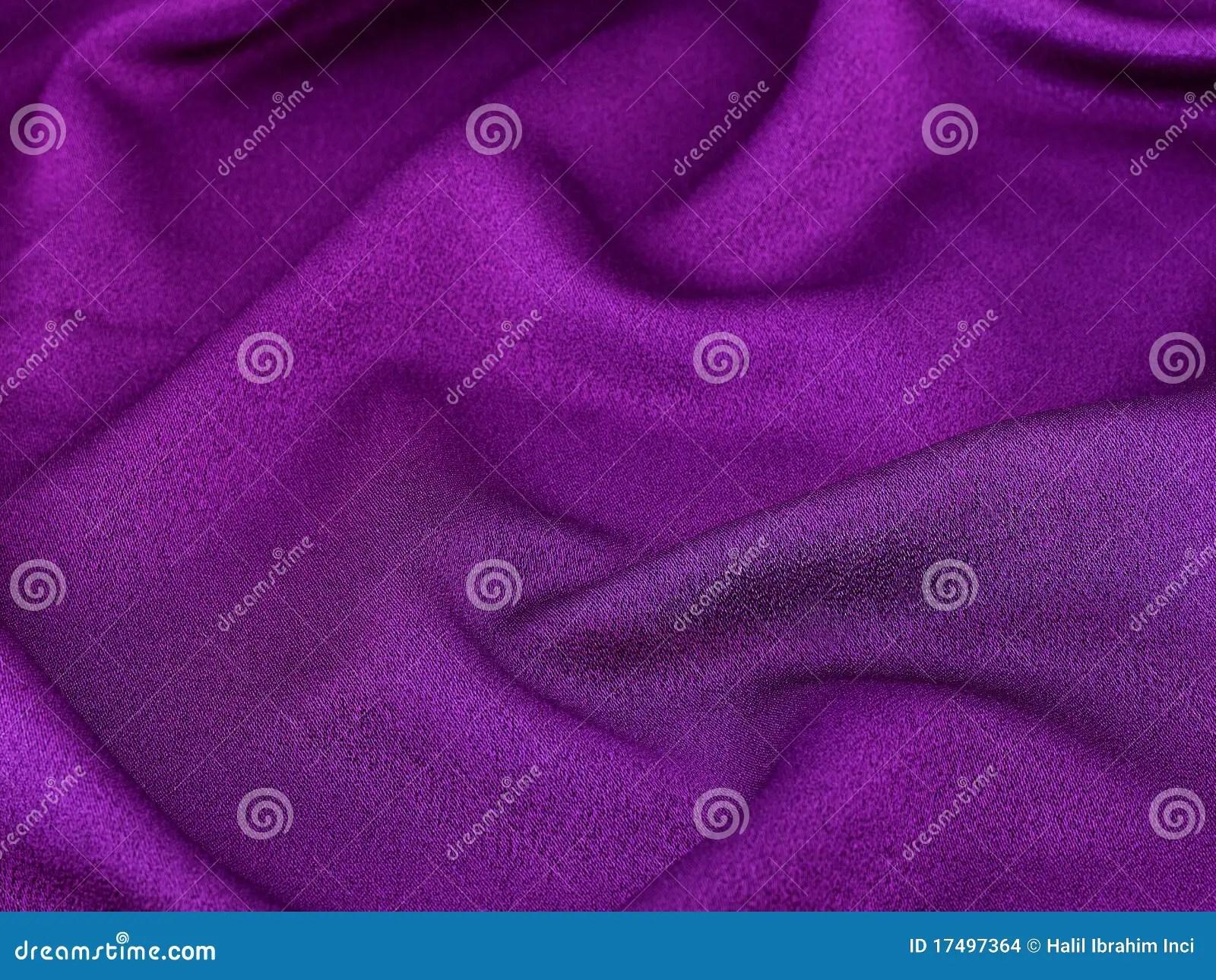 Shiny Purple Fabric Background Stock Photo  Image of soft