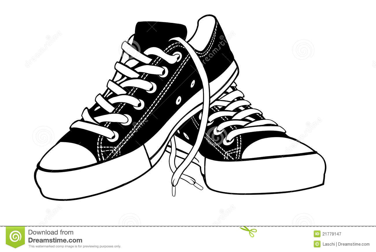 Shoes Stock Vector Illustration Of Isolated Shoe