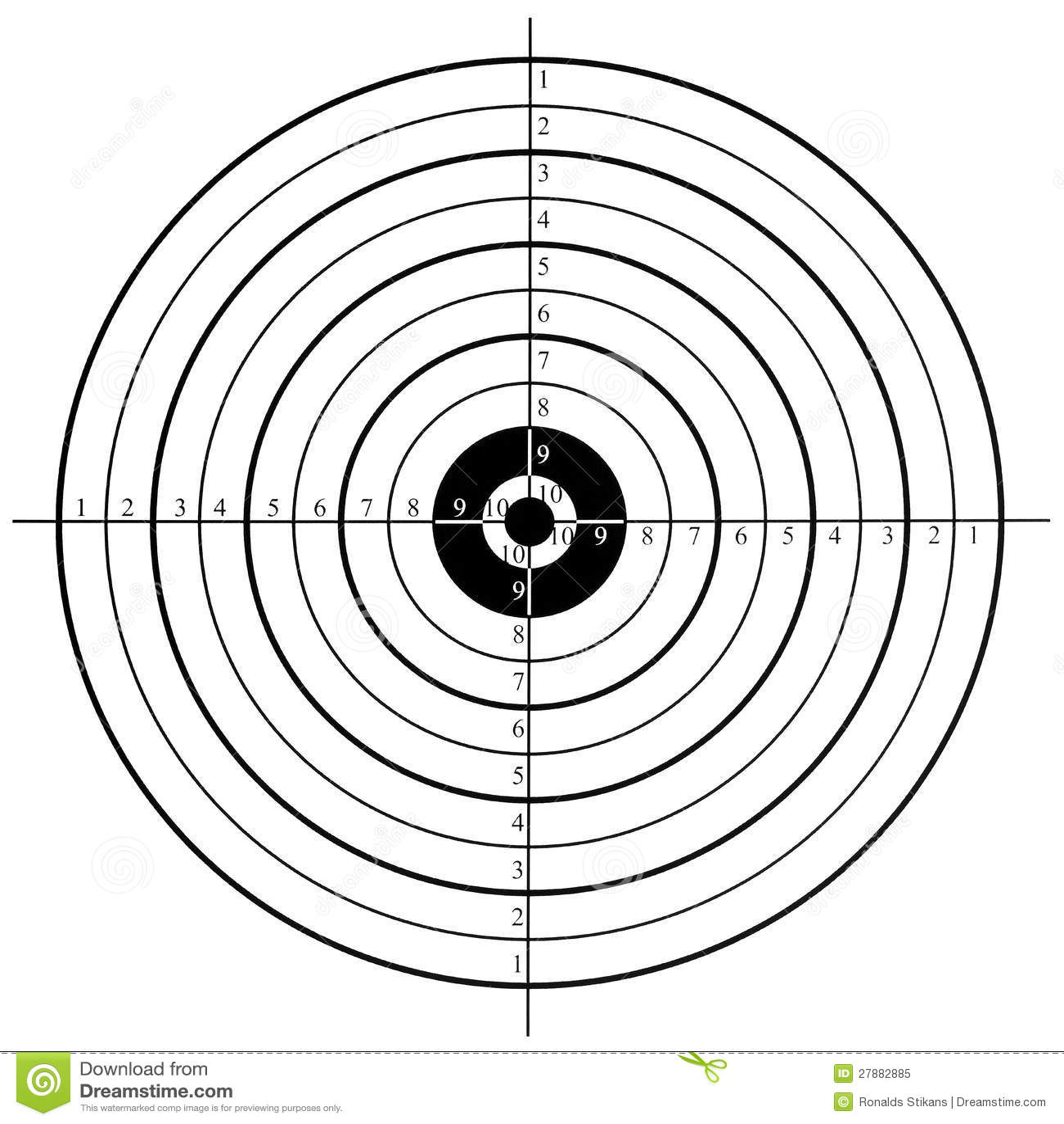 Shooting Target Stock Image Image Of Practicing Shoot