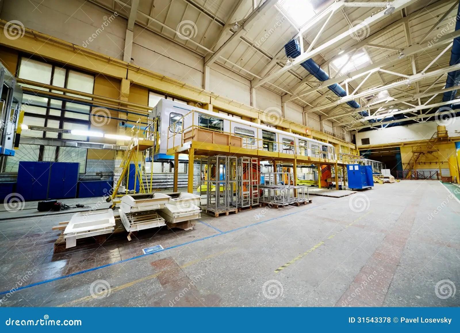Shop Floor At Mytishchi Machinebuilding Factory Editorial