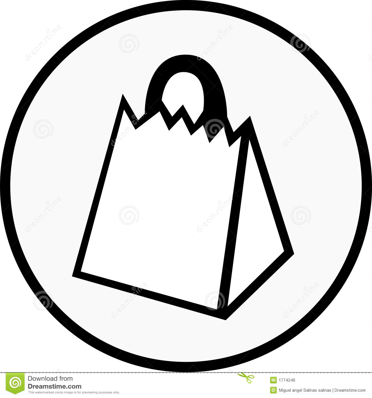 Shopping Bag Stock Vector Illustration Of Cash Credit