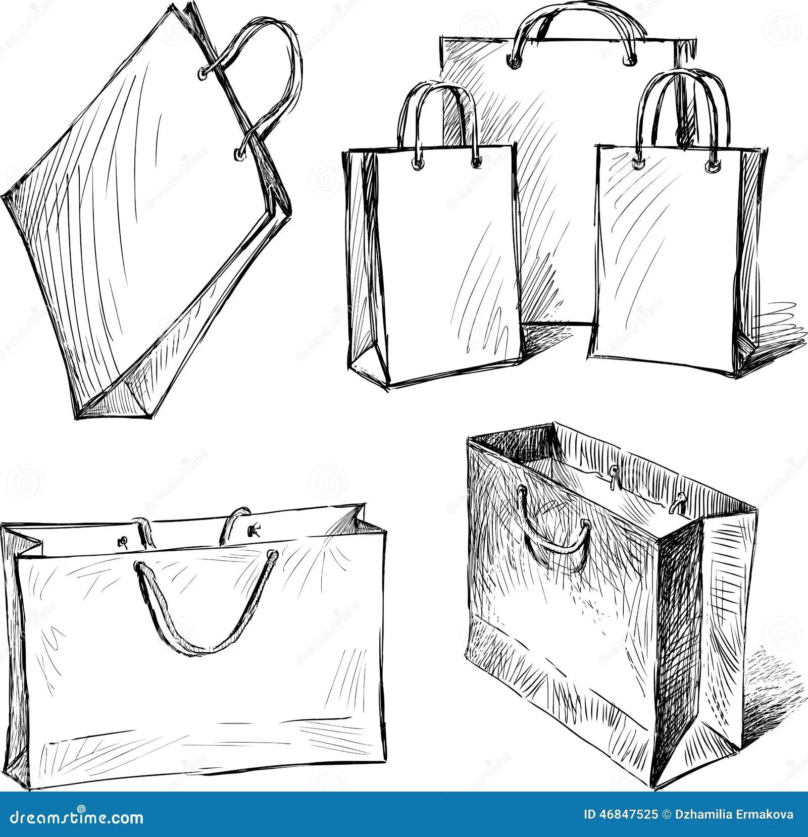 Shopping Bags Stock Image Image Of Life White Buying