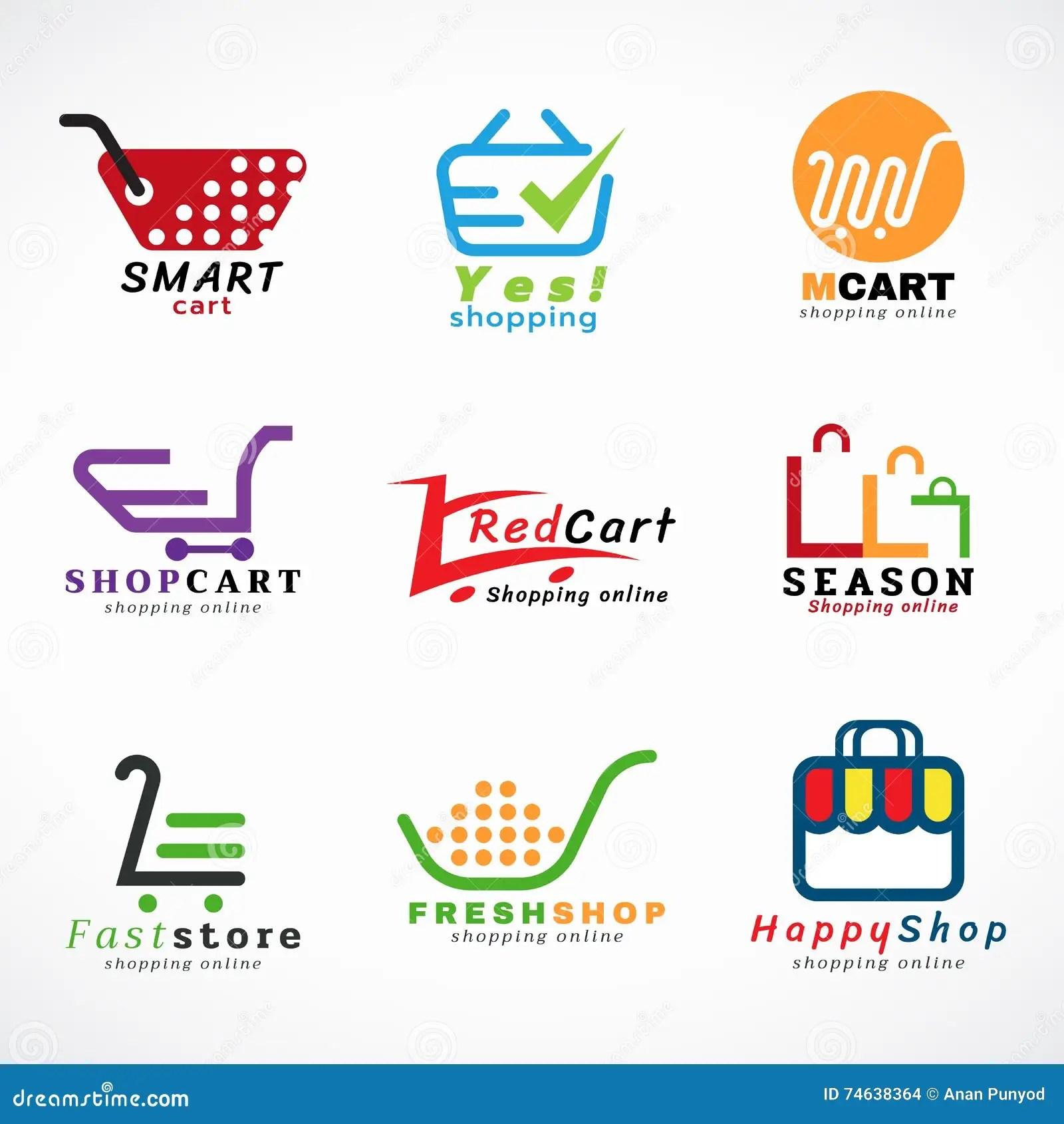 shopping cart logo and