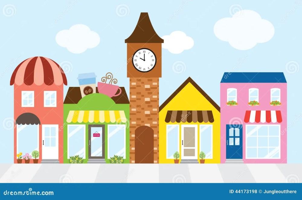 medium resolution of shopping street