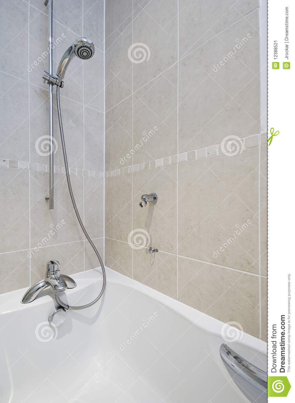 Shower attachment detail stock image Image of ceramic