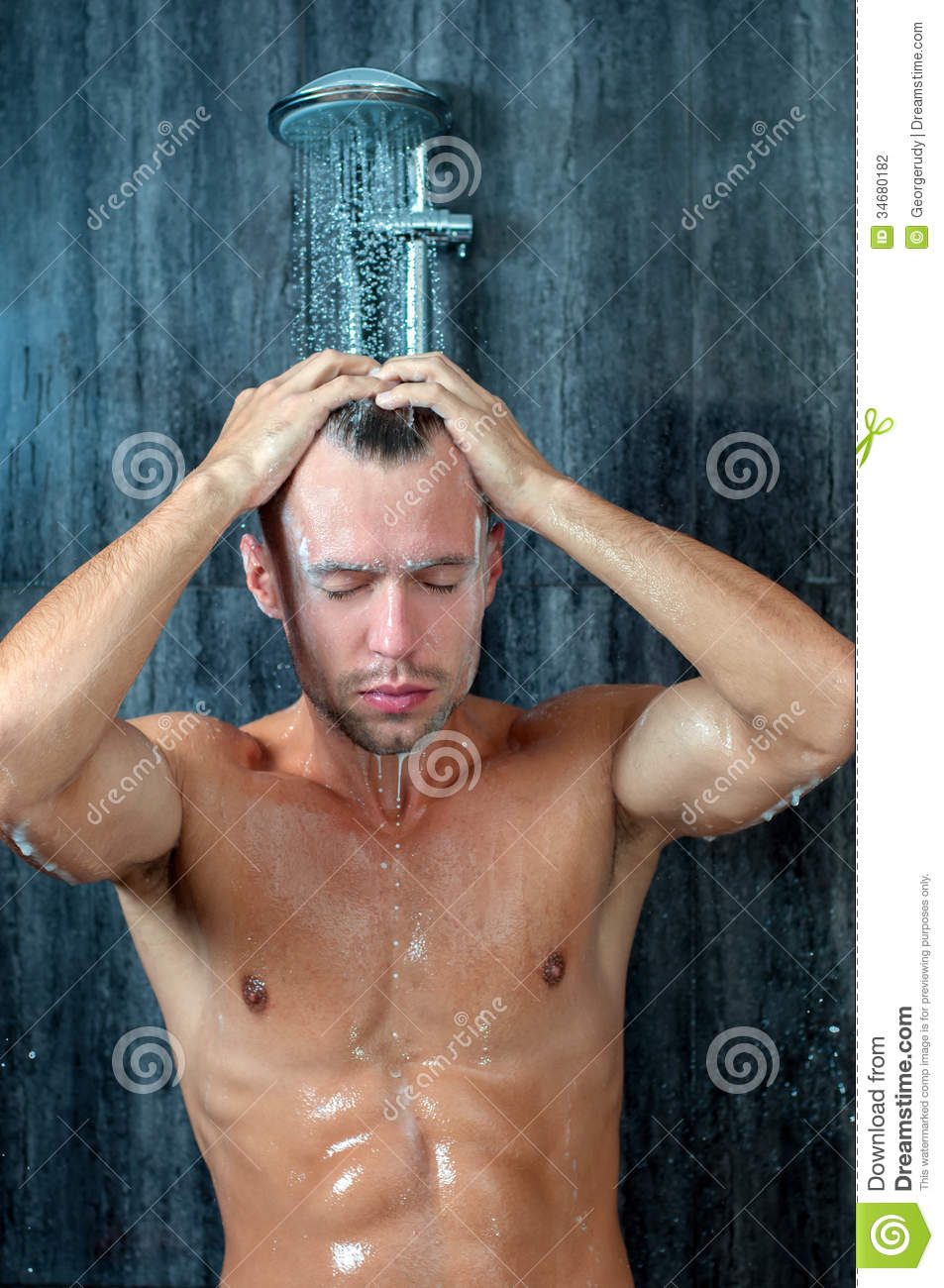 Shower Stock Photography  Image 34680182