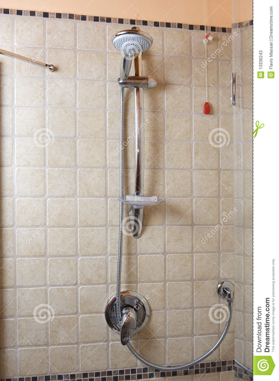 Modern Wall Faucets Shower Head And Faucet Stock Photos - Image: 13336243