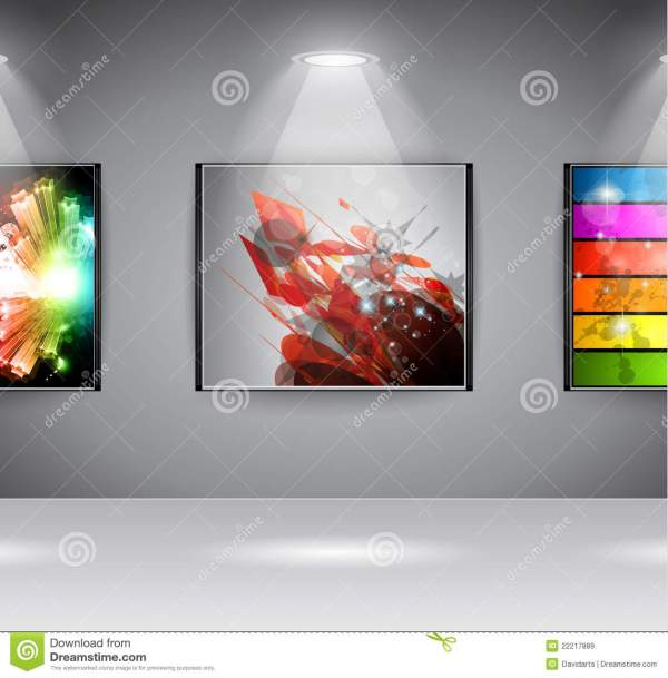 Showroom Art Exposition Royalty Free Stock