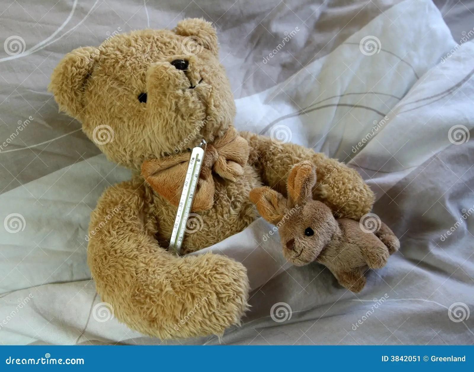 Sick bear stock image Image of sick disease child