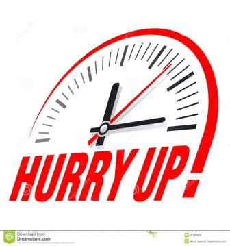Image result for hurry