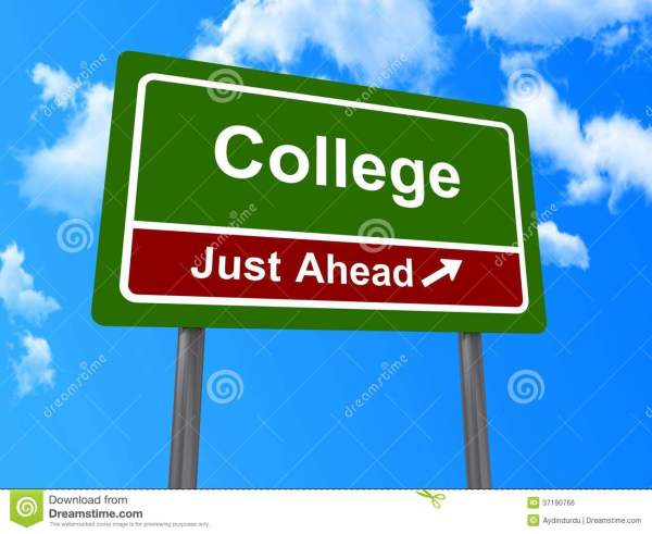 Sign College Royalty Free Stock - 37190766