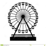 Silhouette Ferris Wheel Stock Illustrations 1 750 Silhouette Ferris Wheel Stock Illustrations Vectors Clipart Dreamstime