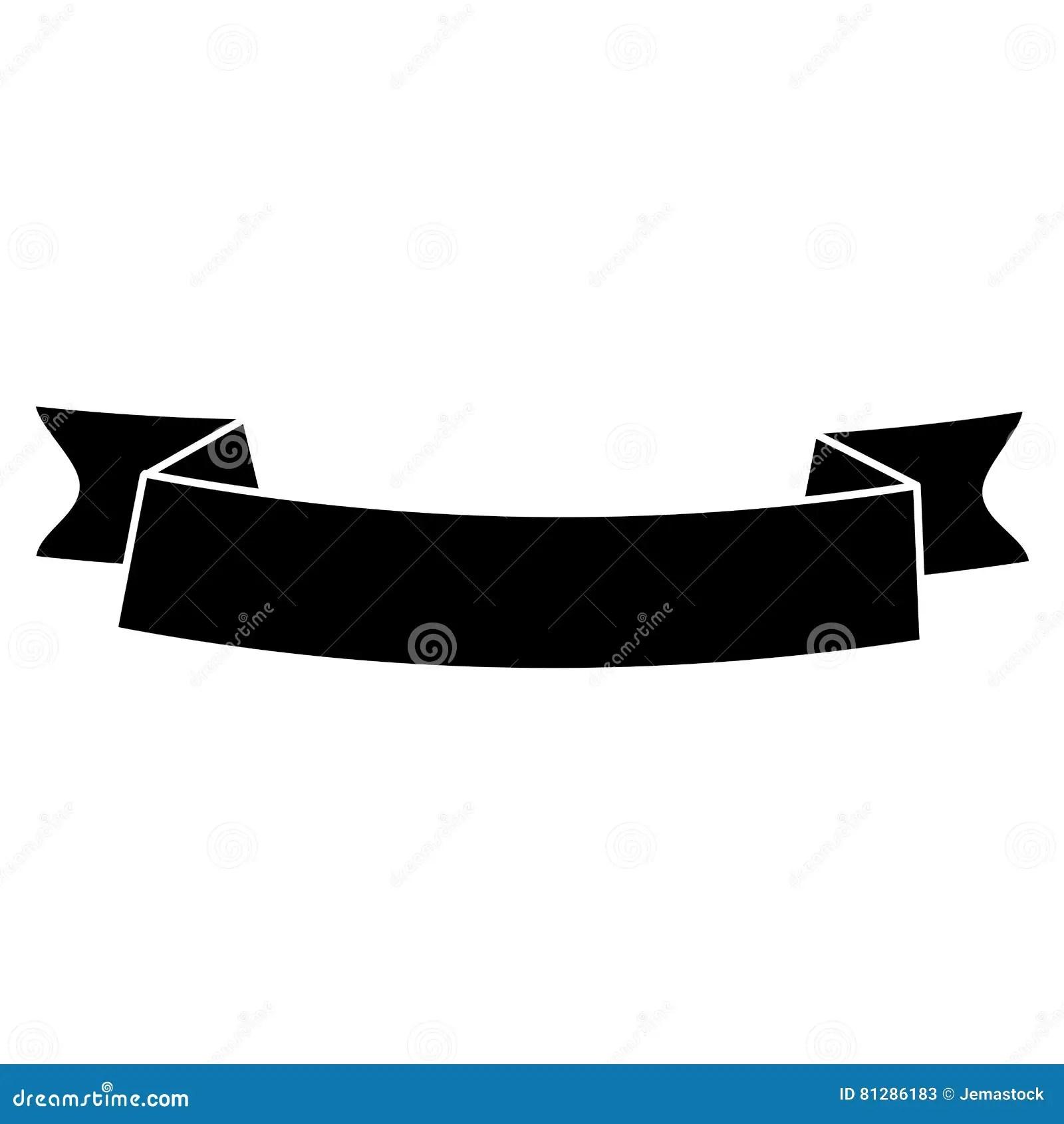 hight resolution of silhouette ribbon banner black empty design stock illustrations 176 silhouette ribbon banner black empty design stock illustrations vectors clipart