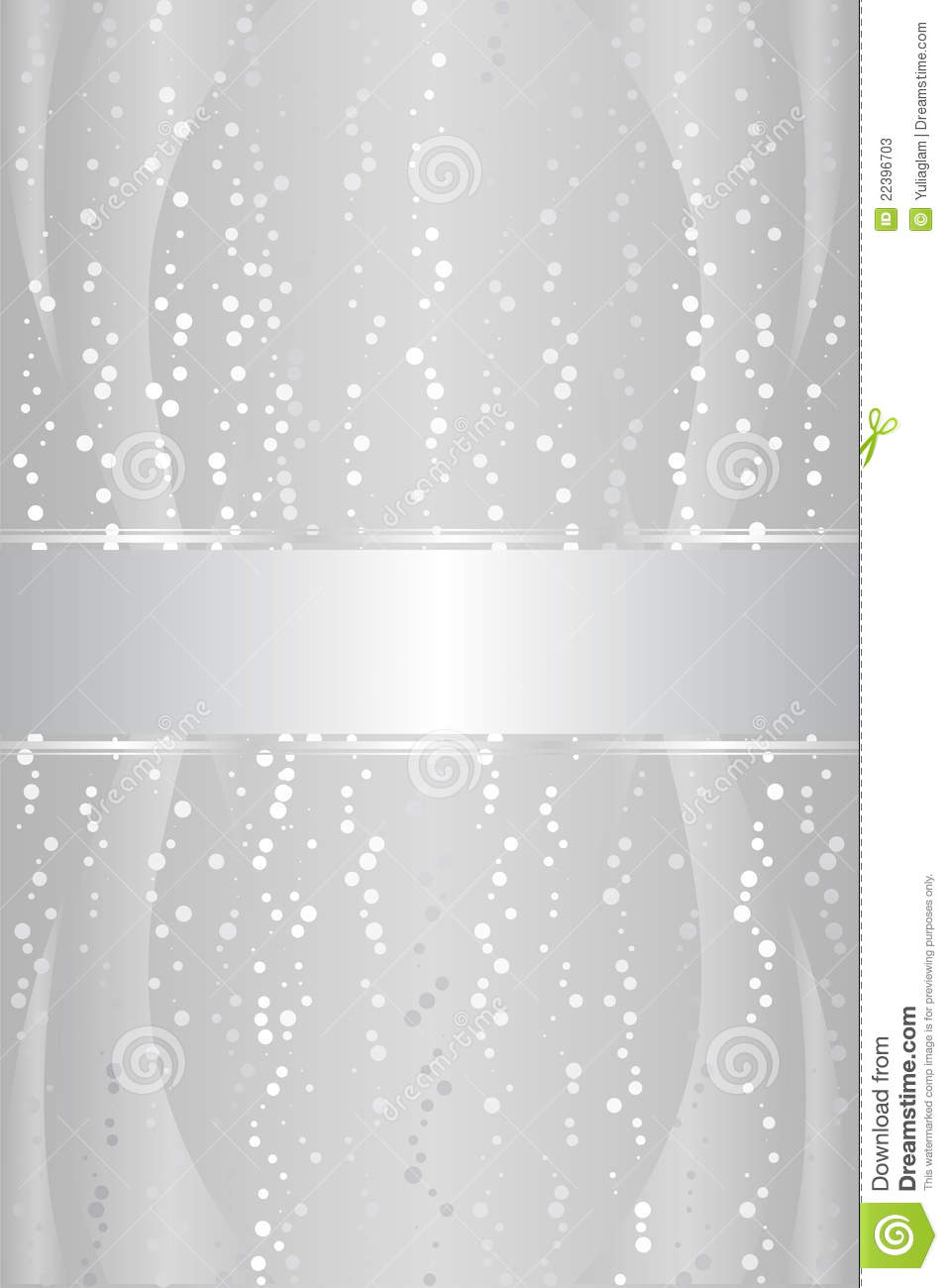 Silver Luxury Background Stock Vector Illustration Of