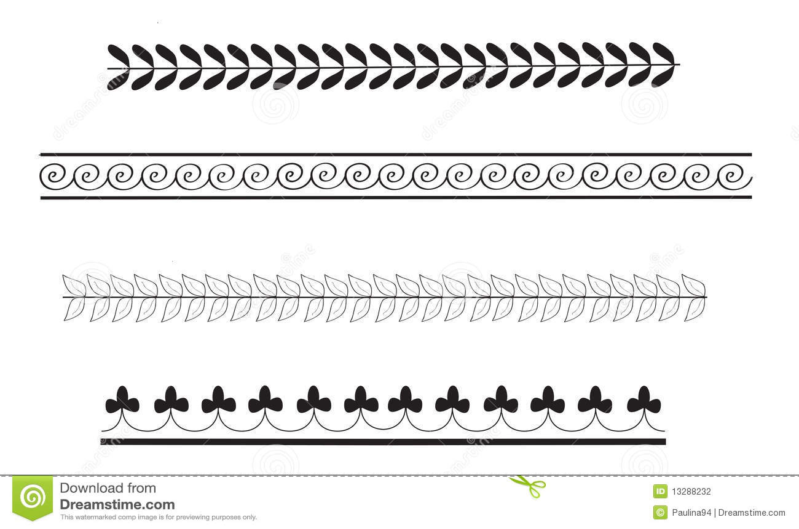 simple ancient greek border