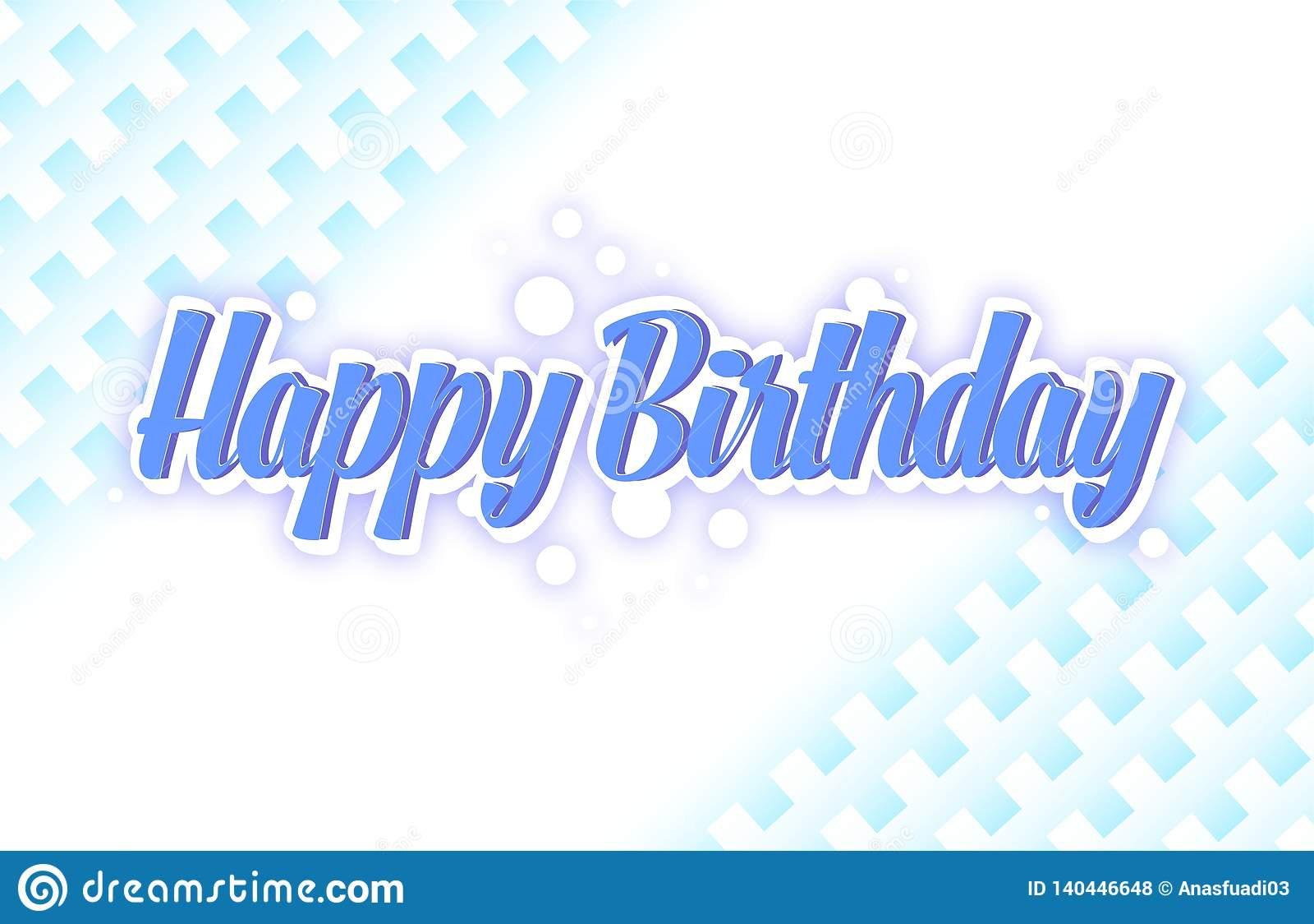 simple birthday greeting card