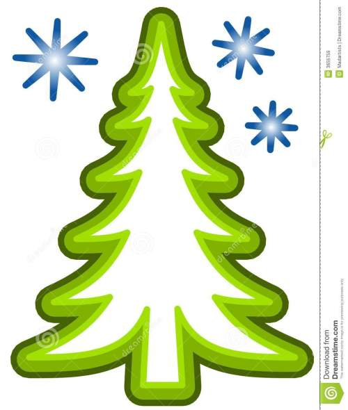 small resolution of simple christmas tree clip art